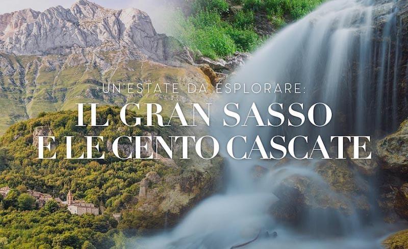 La montagna e il Gran Sasso a pochi km dall'Hotel Cristallo di Giulianova