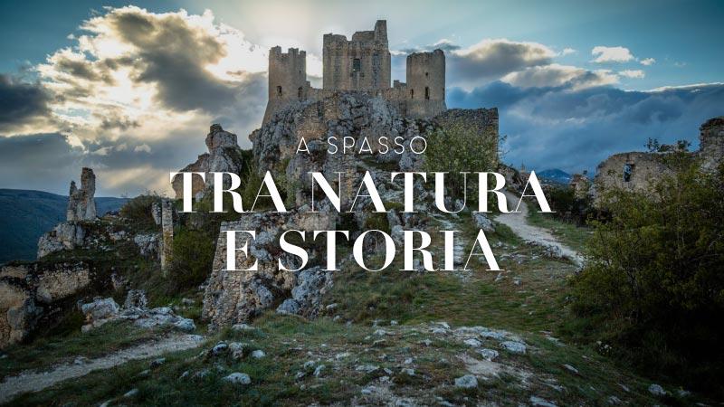 Il castello di Rocca Calascio visitabile in giornata da Giulianova - Hotel Cristallo