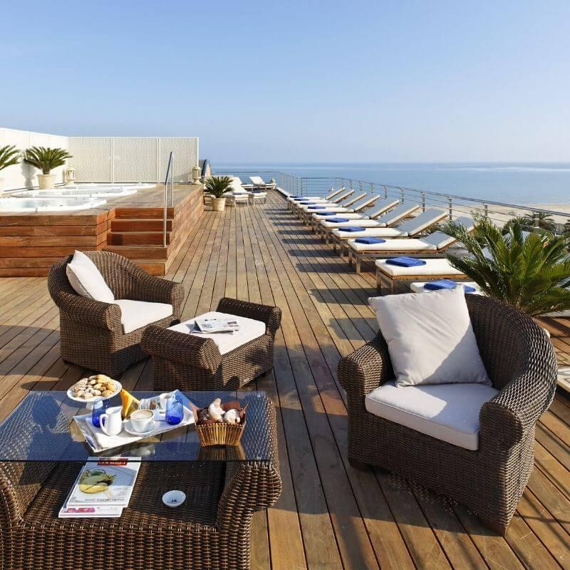 Offerta Pasqua al mare - Solarium dell'Hotel Cristallo a Giulianova